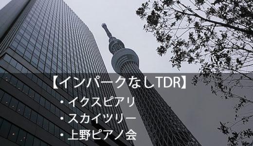 インレポ:2013.4.6(土)低気圧で大荒れ・インなしTDR+スカイツリー・ピアノ会